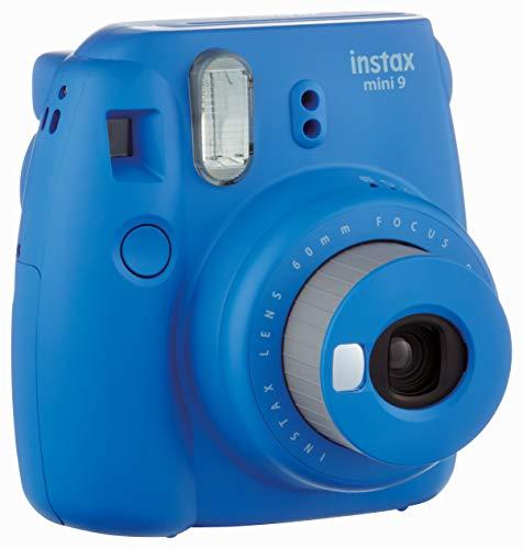Fujifilm Instax Mini 9 Instant Camera, Cobalt Blue