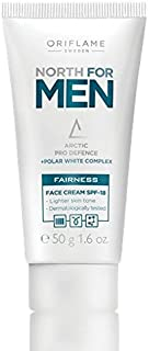Oriflame -North For Men Fairness Face Cream 50G With Spf-18