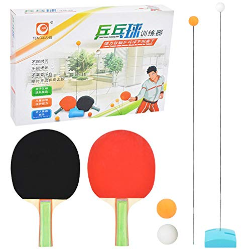 Read About Jungles Table Tennis Trainer - Automatic Robots Training Machine with Different Spin Ball...