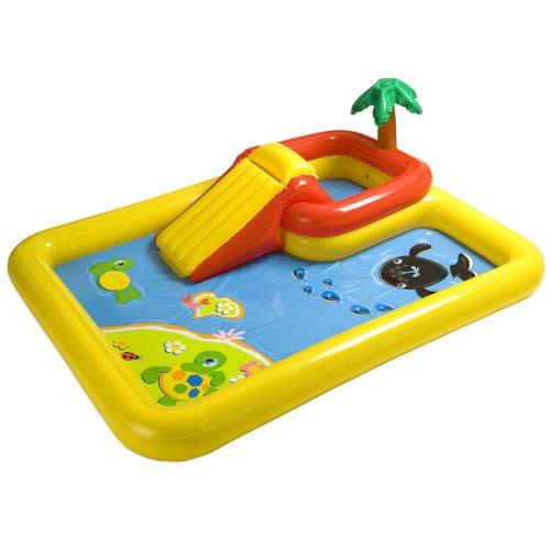 Intex 57454EP 100-inch x 77-inch Inflatable Ocean Children's Play...