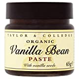 Taylor and Colledge Organic Vanilla Bean Paste - Pack Size = 1x65g