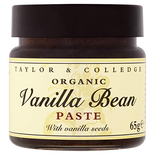 Taylor & Colledge Vanilla Bean Paste, Bio Vanille Paste, Fairtrade Organic, 1x 65g