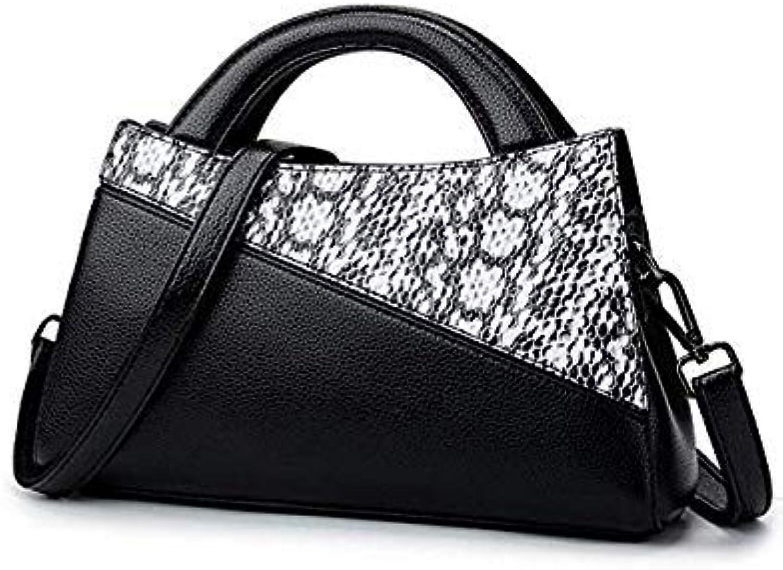 Bloomerang Handbag Crocodile Satchel New Bolsa Feminina Lady Bag Women Leather Handbags Tote Brand Crossbody Bags for Women color Black yupi 29x9x17cm