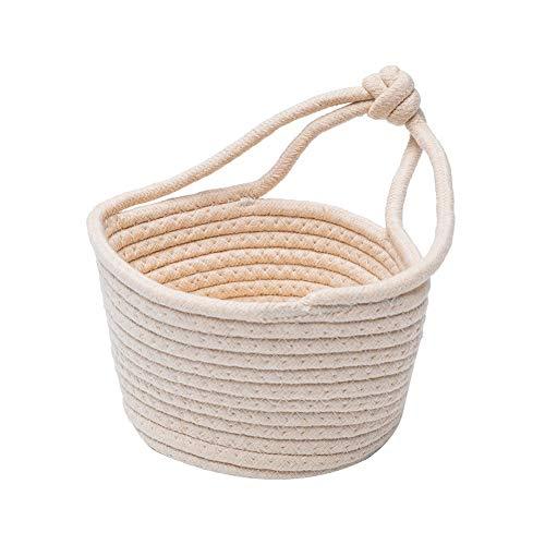 Heding Wall-mounted Storage Basket,Fabric Storage Box Organizing Baskets For Clothing Storage Kindergarten Toy Organizer (Color : A, Size : 20 * 13.5*H13cm)