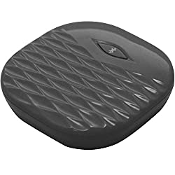 AMPLIFYZE - TCL PULSE Slim Bluetooth Vibration Alarm Controlled Via Your Smartphone (Compatible with iOS and Android) - Black