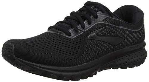 Brooks Ghost 12, Zapatillas de Running para Hombre, Negro (Black/Grey 040), 42.5...