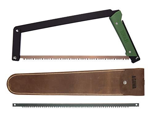 AGAWA - BOREAL21 Backwoods Kit - 21 Inch Folding Bow Saw, 21' Premium...