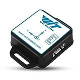 BWT61CL Bluetooth 6 Achsen IMU Sensor 2 Achsen Roll Pitch Neigungswinkel Neigungsmesser 3 Achsen Beschleunigungsmesser Gyroskop MPU6050 MEMS TTL 100Hz Ausgang mit geladenem Akku für PC/Android/Arduino