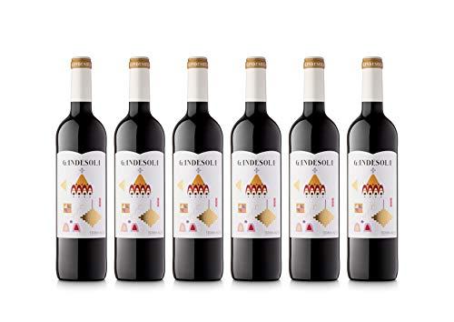 Celler Coop. Gandesa | Vino Tinto Gandesola 2018| D.O. Terra Alta | Pack de 6 botellas de 75cl.