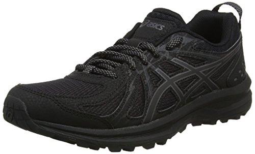 Asics Frequent Trail, Zapatillas de Running para Asfalto para Mujer, Negro (Black/Carbon 001), 41.5 EU