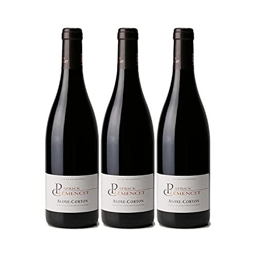 Aloxe-Corton Rouge 2019 - Patrick Clémencet - Vin AOC Rouge de Bourgogne - Lot de 3x75cl - Cépage Pinot Noir