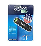 Bayer Contour Next ONE Glucose Monitoring System Wireless Meter...