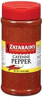 Zatarain's Cayenne Pepper, 7.25 Oz (2 Pack) - Cajun Creole Ground Red Pepper