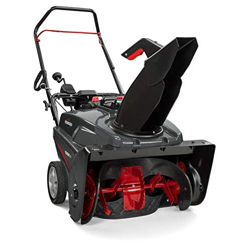 Briggs & Stratton 1022EX 22-Inch Single Stage Snow Blower with Electric Start and SnowShredder Auger