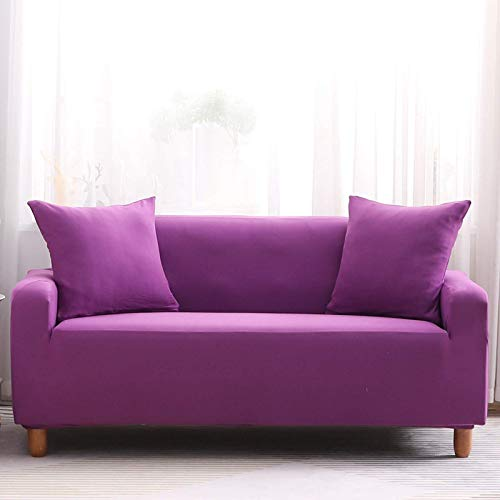 FSYGZJ Funda para sofá Cama Poliéster Spandex Estiramiento Futón Funda para sofá Funda Protectora Funda elástica para sofá Totalmente Plegable 4 plazas (235-300cm)