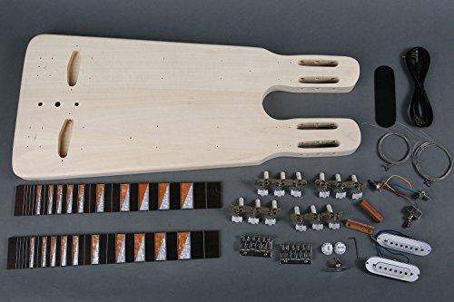 Slide-Gitarren Double Neck Bausatz/Guitar Kit