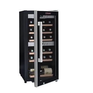 Weinkeller-La-Sommelire-ECS252Z-von-FRIO-24-Flaschen-Zwei-Temperaturzonen-Kleine-Stellflche