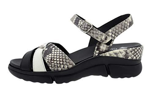 Zapato Cómodo Mujer Sandalia Plantilla Extraíble 200879 PieSanto