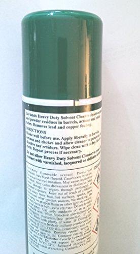 A handy 200ml aerosol can of Garlands Gun Cleaner & Bore Solvent for shotguns and rifles.