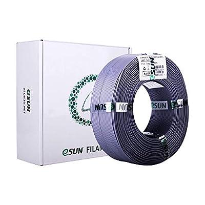 eSUN PLA+ Filament 1.75mm, PLA Plus 3D Printer Filament, Dimensional Accuracy +/- 0.03mm, 1KG (2.2 LBS) Spool 3D Printing Filament for 3D Printers, Grey