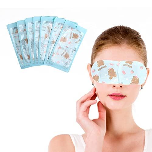 01 Dampf-Augenmaske, wärmende Augenklappe Natürliche Sicherheit für Männer und Frauen Langfristiges Fahren oder Verwenden zur Linderung von Augenermüdung Schlafhilfen