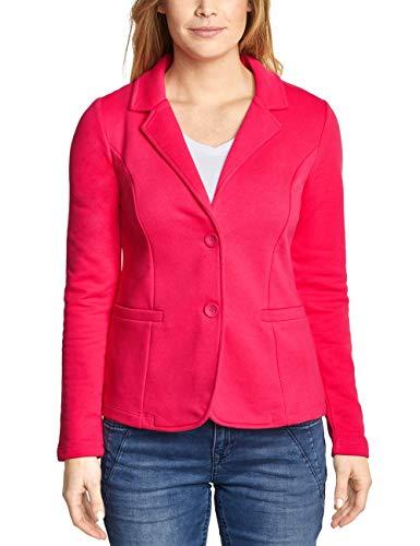 Street One Damen 210990 Rhoda Anzugjacke, Dark Blossom pink, Herstellergröße:38