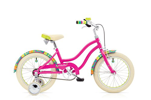 Electra Kinderfahrrad Water Lily 1 Beachcruiser, Pink, 1 Gang, 16