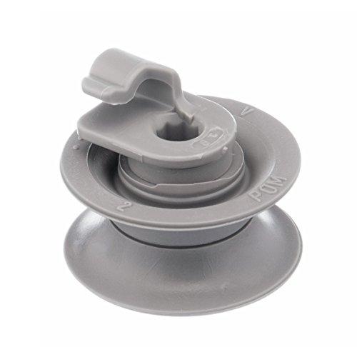 daniplus 1x Korbrolle passend für Spülmaschine Oberkorb von BSH Bosch Siemens, Bauknecht, Whirlpool - Nr : 165313