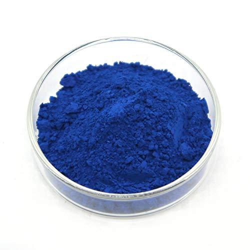 Iron Oxide Pigment - Red Powdered Color for Concrete, Cement, Mortar, Grout, Plaster, Colorant, Pigment (1.1lb, Blue)