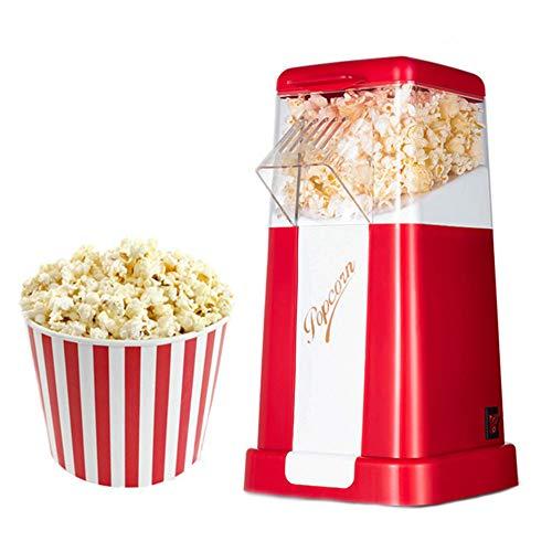 Lowest Prices! LAHappy Popcorn Machine Electric Popcorn Machine Healthy Fat-Free Hot Air Popcorn Mak...