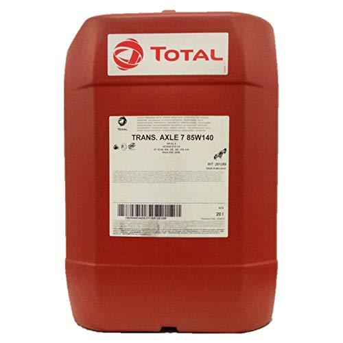 Total 20 Liter Transmission Axle 7 85W-140 MINERALISCHES GETRIEBEÖL FÜR ACHSEN