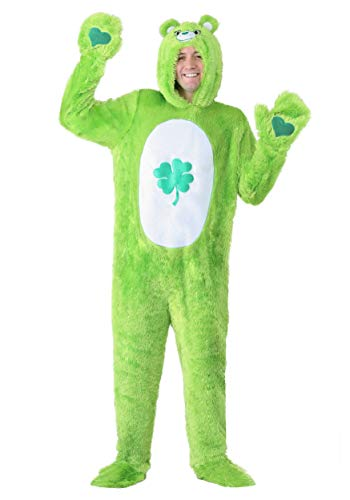 Care Bears Classic Good Luck Bear Costume for Adults X-Large Green