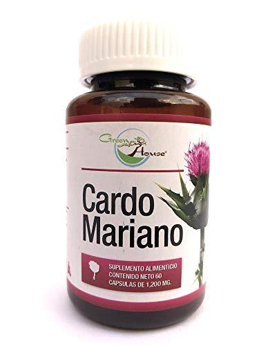 Cardo Mariano 60 Cápsulas De 1200 Mg Green House.