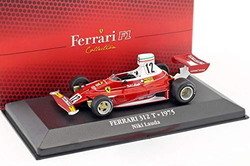 Atlas Niki Lauda Ferrari 312T #12 Weltmeister Formel 1 1975 1:43