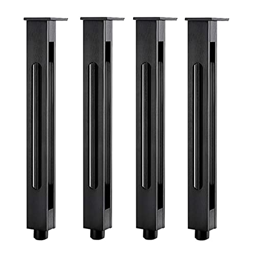 LHSUNTA 4 Sets Of Aluminum Bathroom Cabinet Feet, Supporting Feet, TV Cabinet Feet, Adjustable Supporting Legs, Furniture Feet,not Fade After Long-term Use, And It Is Durable