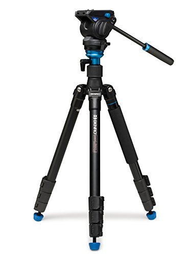 Benro Aero 4 Travel Angel Video Tripod Kit (A2883FS4),BLACK