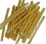 Maltbys' Stores 1904 Limited Rawhide Twist Dog Chews 80 Sticks, 4-6 mm Size (Better value than our 100 pack)