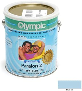 Kelley Technical Coating 291-GL Olympic Paralon 2 Chlorinated Rubber Base Enamel Gallon, Blue Ice by KELLEY TECHNICAL COATING