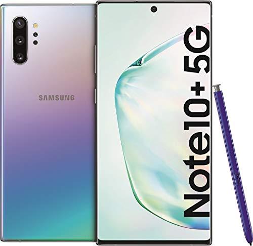 """SAMSUNG Galaxy Note10+ 5G - 256 GB - 17,3 cm (6.8"""") 12 GB SIM Singola - Argento Aura Glow"""