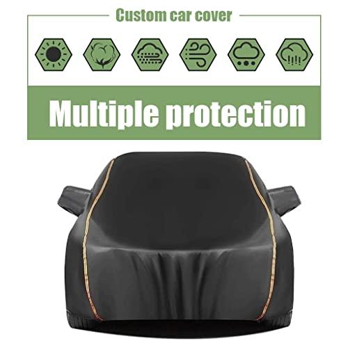 Autoabdeckung gegen Hagel Autoabdeckung kompatibel mit BMW BMW X4 X5 X6 X 7 丨 Das Auto schützen vor Hagel und Scratches vor schlechtem Wetter Malen. Das Auto-Persenning ist wasserdicht und staubdicht.