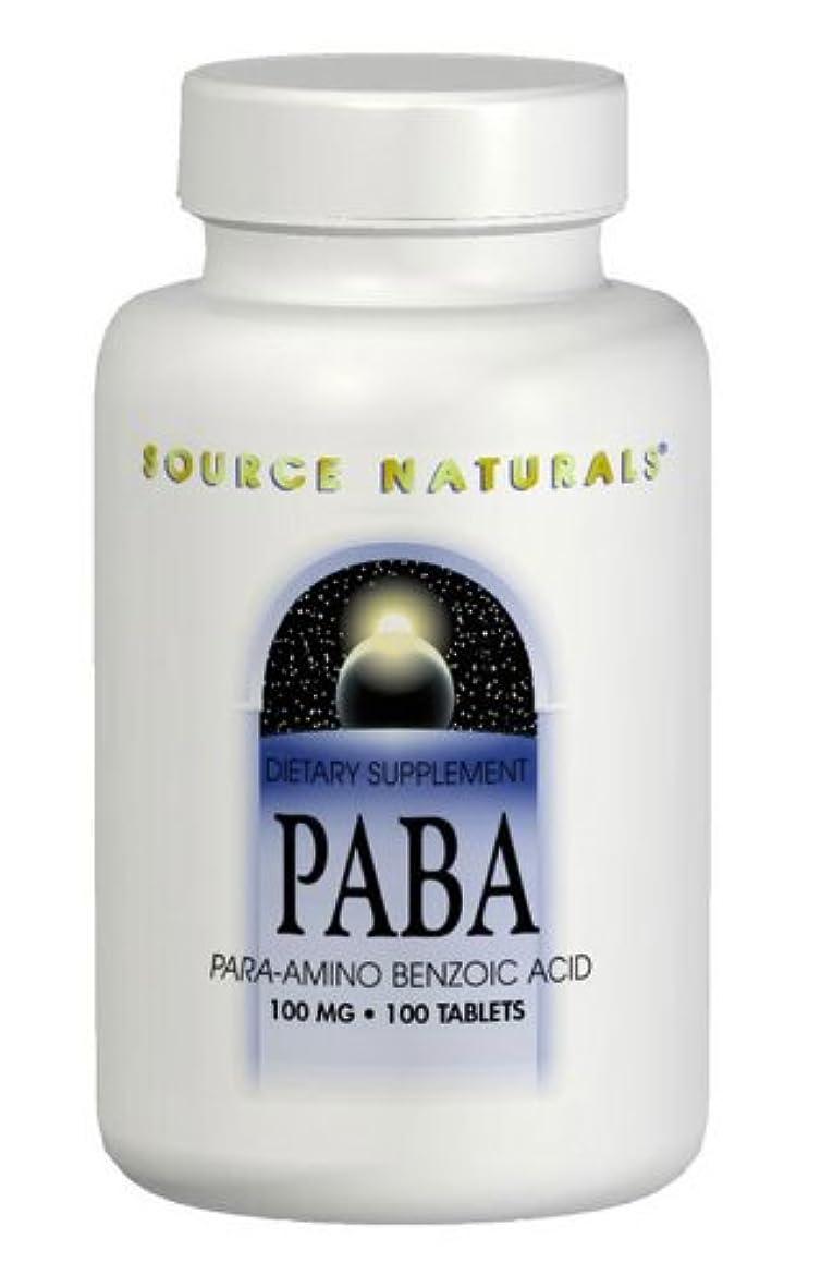 比較的リーズ素朴なPABA 100mg 100Tabs