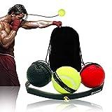 Boxeo Reflex Ball Para Entrenamiento De Boxeo Equipo De Perforación De Boxeo De 3 Bolas Pelea De Boxeo Pelea Reflejo Para Mejorar Las Reacciones De La Velocidad Y La Descompresión De Precisión