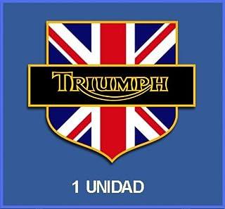 BLUE HAWAI G010 Patch ECUSSON Triumph Rond 8 CM
