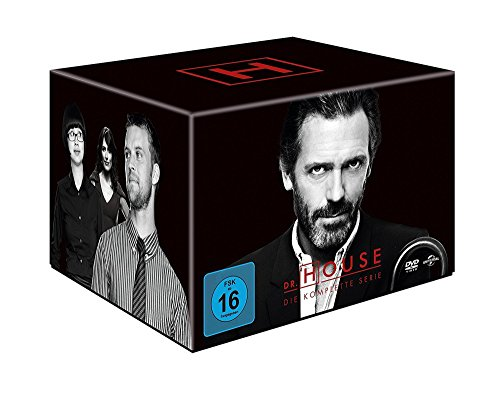 Dr. House - Die komplette Serie, Season 1-8 (46 Discs)