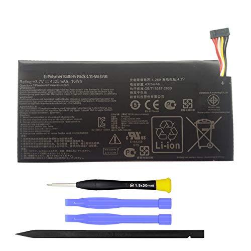 MUKUZI Nexus7 バッテリー ASUS Google Nexus7(2012) ME370T タブレット 互換 バッテリー C11-ME370T 電池 贈り物を贈る 据え付け道具