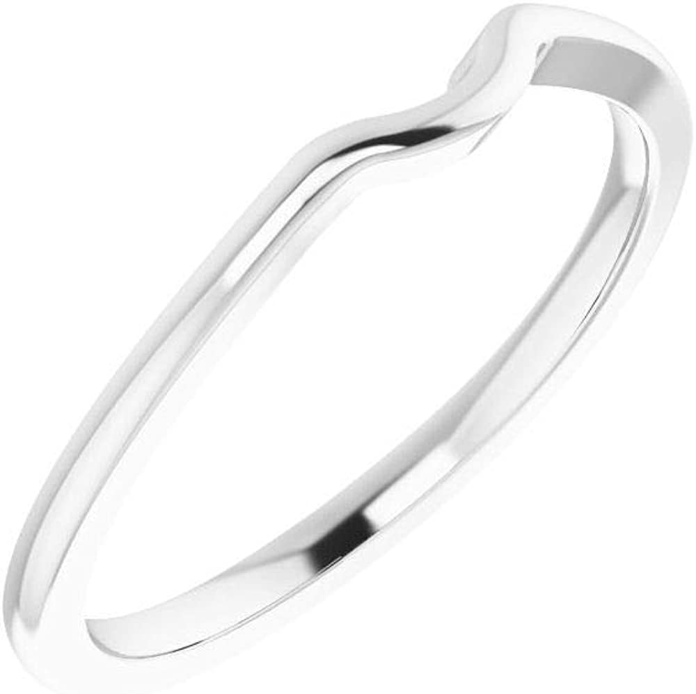 Solid Platinum Ring Band (Width = 4.6mm)