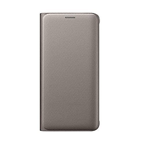 SAMSUNG Custodia a Portafoglio per Galaxy S6 Edge Plus, Oro