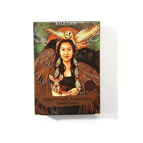 Xin Hai Yuan Cartas De Tarot, Ángeles Y Ancestros Cartas De Oracle Tarot Deck 55 Cartas del Juego De Mesa De Fiesta Familiar