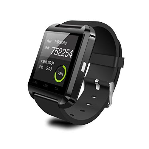 Suministros de Relojes: Reloj Inteligente para teléfonos Inteligentes Android (Negro)