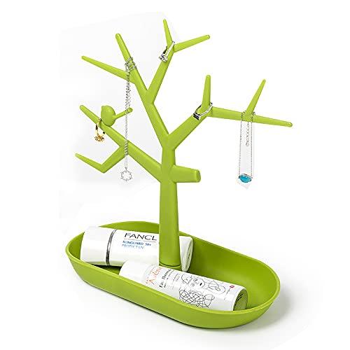 Organizador de joyas creativo Copa de vino forma pendientes pulsera estante exhibición joyería titular del perno prisionero soporte asta árbol caja de recuerdo para las mujeres día de San Valentín